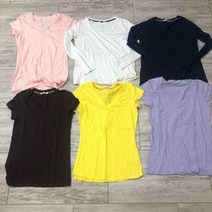Women's large under shirt lot 10/10